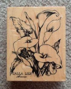 PSX Botanical Calla Lily Araceae K-1696 - RETIRED