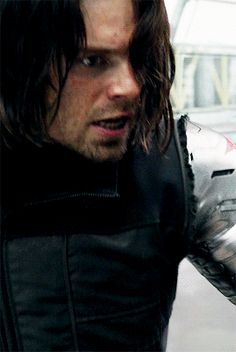 Bucky's dawning horror when he realizes that Spider-Man is just a KID.