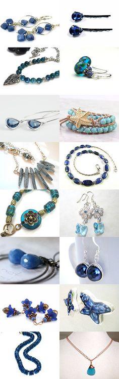 Summer Blue by #ArtJewelerNYC on Etsy -- with #LeesEarringBoutique #Malves1009 #GemstonesOnMyMind #CoolJewelryDesign #BeadsMe #AbacusBeadCreations #RusticRockJewelry #TheSilverBear #RoughMagicCreations #JemsbyJBandCo #CapitalCityCrafts #TraceDesigns #OzmayDesigns #LauraStamperDesigns #ELEVEN13 #endlessbounty #jewelryonetsy #jetteam