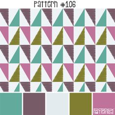 Pattern 106 - If you like this pattern, you can get it at www.patternpod.com! We…