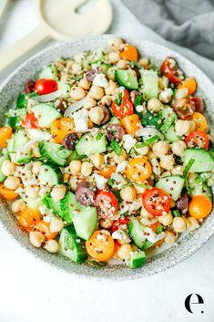 Recipe For 1, Recipe Ready, Mediterranean Chickpea Salad, Mediterranean Diet, Simply Shredded, Perfect Quinoa, Healthy Hot Chocolate, Dairy Free, Gluten Free