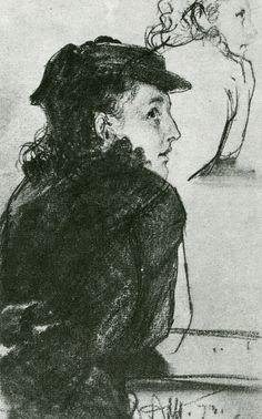 Wege zum Bild: Skizzen von Adolf Menzel