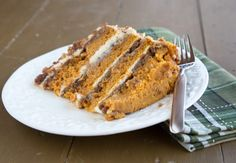 The Original Pumpkin Crunch Cake with Cream Cheese Frosting – My Holiday…