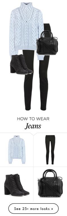 """""""Untitled #10434"""" by alexsrogers on Polyvore featuring Proenza Schouler, Altuzarra, Yves Saint Laurent and Alexander Wang"""