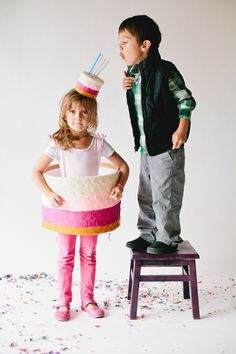 Birthday Cake Costume, we found the best kids costume ideas and some of them are just the cutest!! (like this birthday cake outfit!)