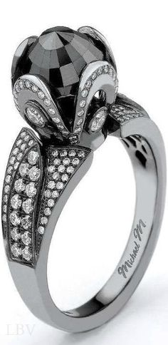 Black Diamond Ring | LBV ♥✤ | BeStayBeautiful