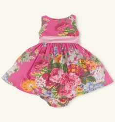 Baby Girl Easter Dress - Ralph Lauren