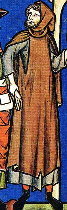 a Levite and his wife - detail.
