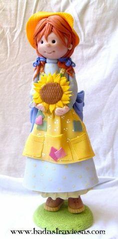 girl cake topper