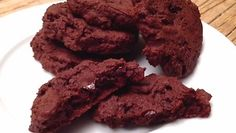 How to make double chocolate brownie cookies - Video
