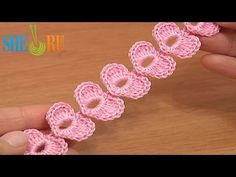 ▶ Crochet Cord Heart Elements Tutorial 62 Crochet Small Hearts - YouTube  ✿Teresa Restegui http://www.pinterest.com/teretegui/✿