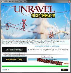 Unravel CD Key Generator 2016