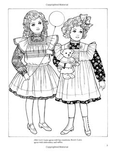 Old-Time Children's Fashions Coloring Book (Dover Fashion Coloring Book): Ming-Ju Sun: 9780486444840: Amazon.com: Books