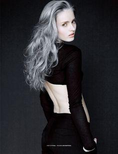 пепельный серый цвет волос - Google 検索