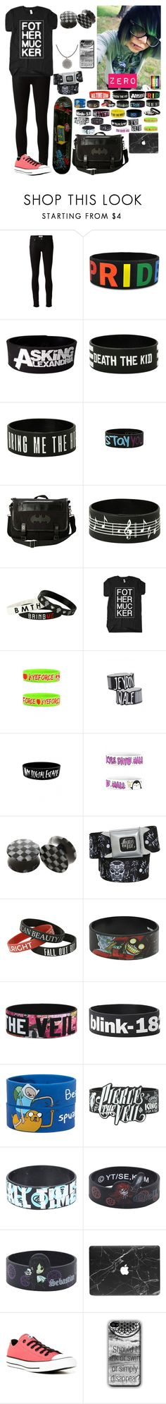 """""""Untitled #73"""" by thugpug887 ❤ liked on Polyvore featuring Paige Denim, Sebastian Professional and Converse"""