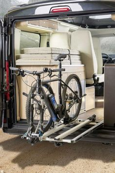 72 best rv bikes images campers vans caravan van rh pinterest com