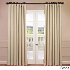 exclusive fabrics extra wide thermal blackout 108inch curtain panel by exclusive fabrics