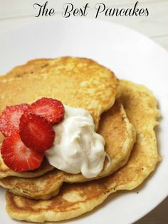 Kefir Breakfast Pancakes Recipe - The new better than Buttermilk fix for the Best pancakes for your next Family Brunch.