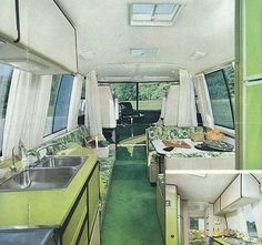 Oh the sweet 70s. This blog is awesome for 70s trailers and motor home decor