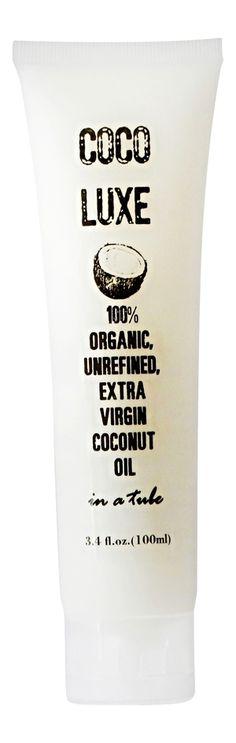 Coco Luxe Coconut Oil in a Tube — Coco Luxe Organic