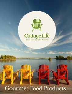 Cottage life brand of gourmet foods! www.orange-crate.com