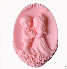 Soap Mold,Cake Molds Wedding Day Lovers Silicone Mold, For Soap, Candy,Cake, Ice,Craft. $9.99, via Etsy.