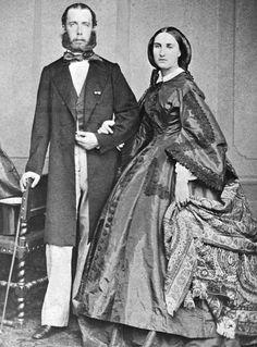 Carlota y Maximiliano Emperadores de México