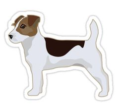 Jack Russell Terrier - Basic Breed Silhouette by TriPodDogDesign