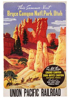 Bryce Canyon Via the Union Pacific by paul.malon, via Flickr