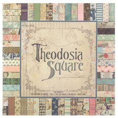 x Theodosia Square Paper Pack Diy Projects Videos, Fun Projects, Sewing Projects, Print Coupons, Scrapbook Paper Crafts, Yarn Crafts, Hobby Lobby, Card Stock, Vintage World Maps