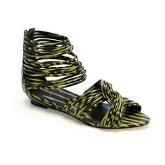 Carlie Mignon Twist Sandal- Loeffler Randall: Silver zipper closure at back - Sandal or Jewelry?