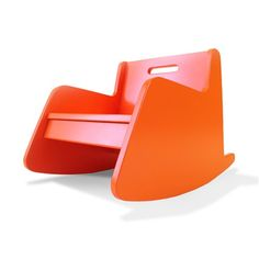 Hiya Rocker from @yliving - such a mod look and fun pop of color for the kids room or playroom! #PNpartner