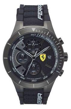 Scuderia Ferrari 'Redrev Evo' Chronograph Watch, 46mm available at #Nordstrom