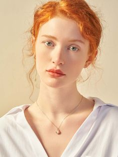 Luckily, it's easier than ever to find kombucha skin care products. Here are our favorites for glowing skin. Luckily, it's easier than ever to find kombucha skin care products. Here are our favorites for glowing skin. Girls With Red Hair, Red Hair Man, Female Character Inspiration, Model Face, Portrait Inspiration, Fantasy Inspiration, Drawing People, Woman Face, Girl Face