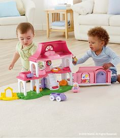 The Little People Happy Sounds Home is filled with life-like sounds! #Play #Toys #Imagination