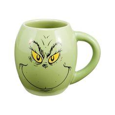 LOVE, Love, LOVE this Dr. Seuss How the Grinch Stole Christmas coffee mug!!! #grinch #christmasmugs #drseuss