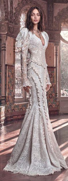 "Galia Lahav | ""Victorian Affinity"" Bridal Collection Spring 2018"