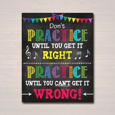 Music Teacher Classroom Printable Poster, Classroom Decor Practice, Music Quote, High School B. Teacher Door Signs, Classroom Door Signs, Teacher Doors, Classroom Rules, Classroom Decor, Classroom Teacher, Teacher Binder, Classroom Behavior, Kindergarten Classroom