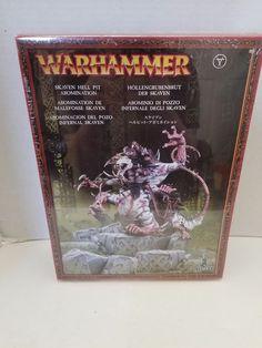 Games Workshop Warhammer AoS WFB Chaos Skaven Clans Moulder Hell Pit Abomination #GamesWorkshop #warhammer #Skaven