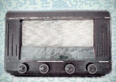 Cart - Ansichtkaart - Vintage radio - C979   Cart Swiss   kaartfanaat
