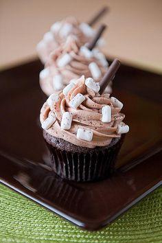 Hot Coco Cupcake
