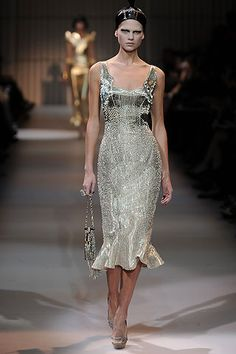 Armani Privé Spring 2009 Couture Collection Slideshow on Style.com