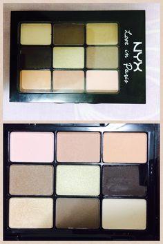 Nyx eye shadow palette - 'Love in Paris (Madeleines and Macaroons) $16 Target