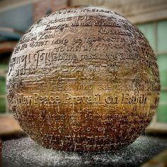 Hank Kaminsky Prayer Peace Fountain, Fayetteville, Arkansas.