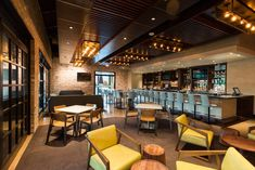 Hungry's Upstairs Lounge Will Debut On New Year's With Killer Views Of Houston + Cocktails Houston Date Ideas, West University, Bar Lounge, Terrace, Cocktails, Furniture, Dining, Home Decor, Balcony