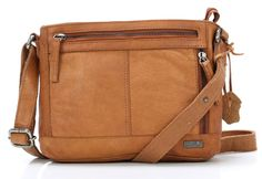 Butter  Cross Body Bag Leather tan 25 cm