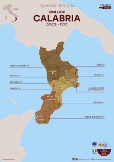 Tutti i vini DOP (DOCG e DOC) della Calabria, localizzati sulla carta regionale. Al link le informazioni sulle tipologie e sugli uvaggi.  Italian Wine Region Calabria Wine Pics, Best Of Italy, General Knowledge Facts, Italian Wine, Fine Wine, Wine Drinks, Wine Tasting, Wine Recipes, Cabernet Sauvignon