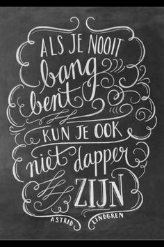 Lettering by Valerie McKeehan - Video Angst Quotes, Words Quotes, Me Quotes, Sayings, The Words, Cool Words, Dutch Quotes, Beautiful Words, Inspirational Quotes