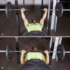 2. Bench Press #barbell #workout #fitness http://greatist.com/move/beginner-barbell-workout