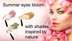 Summer is coming! Gorgeous eyes with Honeybee Gardens all natural makeup - certified cruelty free, vegan and gluten free #naturalcosmetics